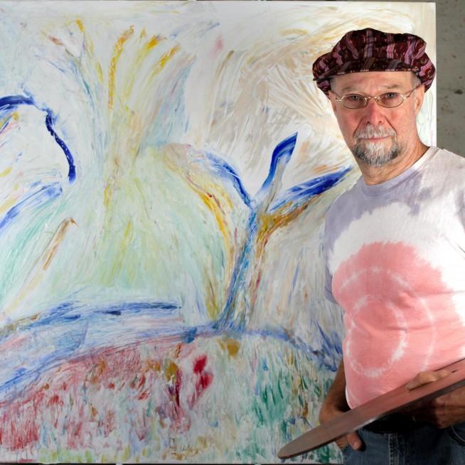 Painting Of Autumn With Michael J Palladino